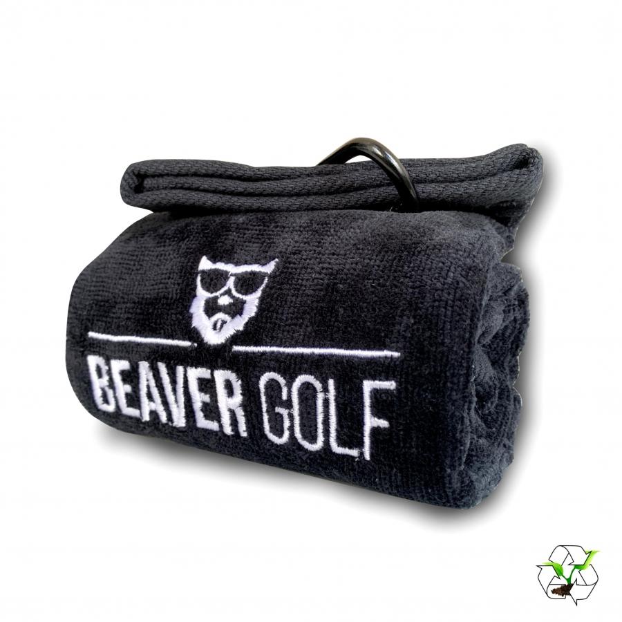 Beaver Golf BEAVER Biobaumwoll Schlägertuch BV-GT-BL